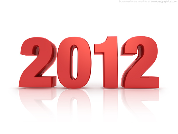 Year 2012 - Photo Credits [http://www.psdgraphics.com]
