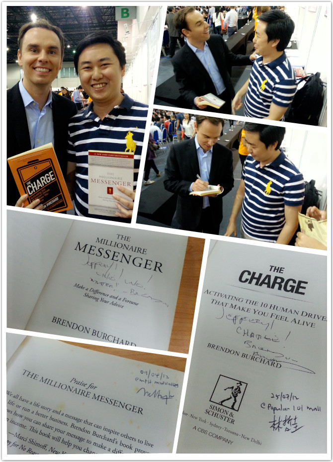 Brendon Burchard Book Signing