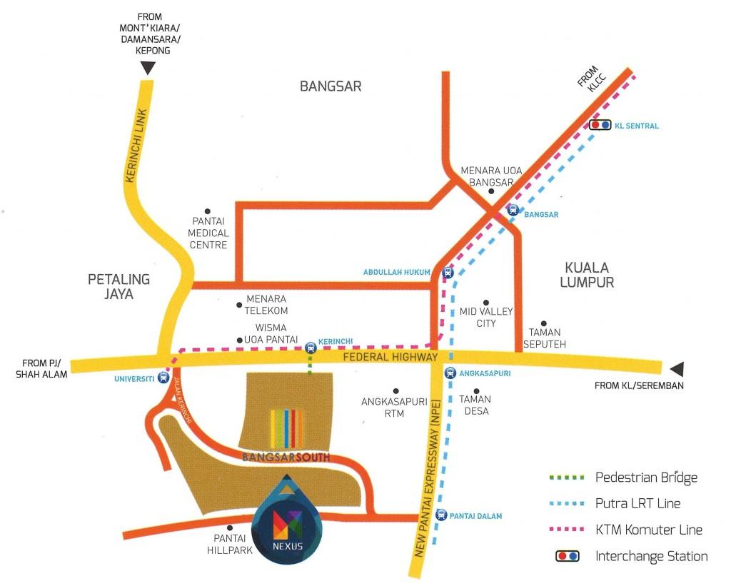 Connexion@Nexus Location Map