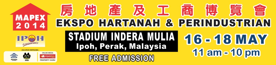 MAPEX 2014 Ipoh Banner
