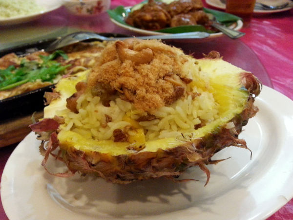 Melaka Pineapple Fried Rice
