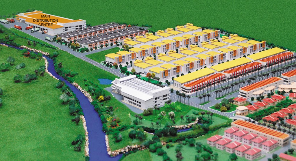Skyline Industrial Park 3D Overview