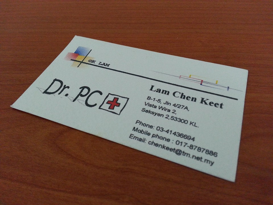 Dr.PC Namecard