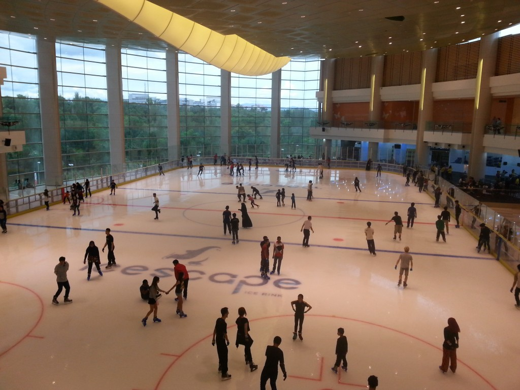 Ice Skating IOI City Mall