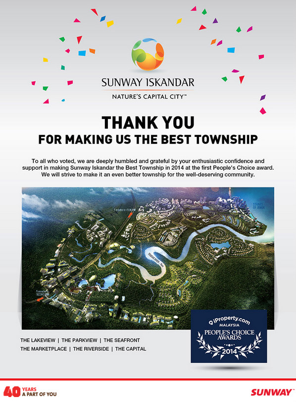 Sunway Iskandar Thank You