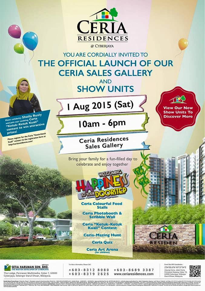 Official Launch - Ceria Sales Gallery