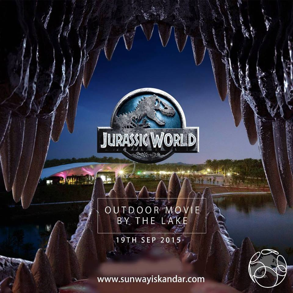 Sunway Iskandar Jurassic World Outdoor Movie By The Lake - 19.09.2015