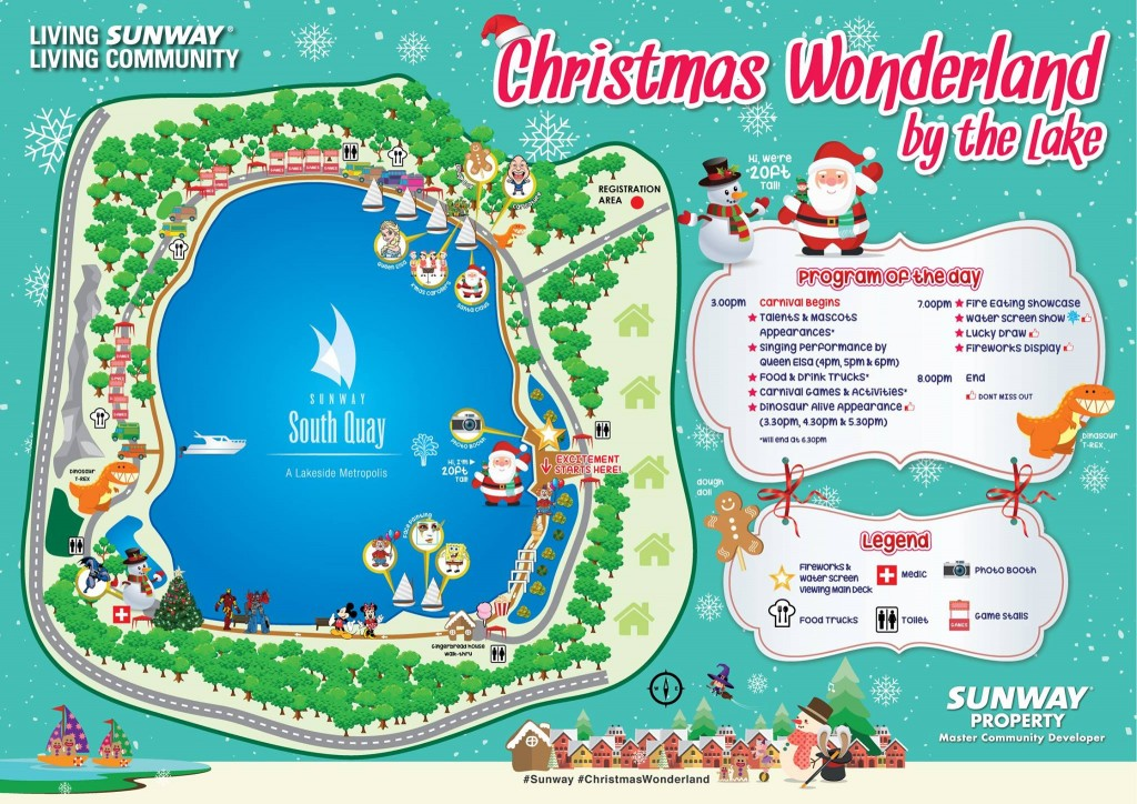 Christmas Wonderland Invitation Programme