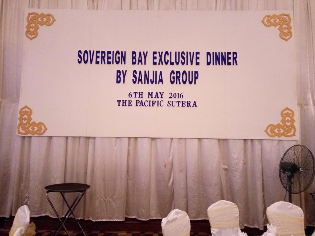 Sovereign Bay Talk Backdrop