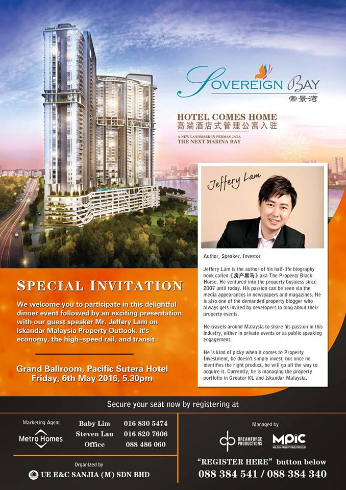 Sovereign Bay Talk in KK