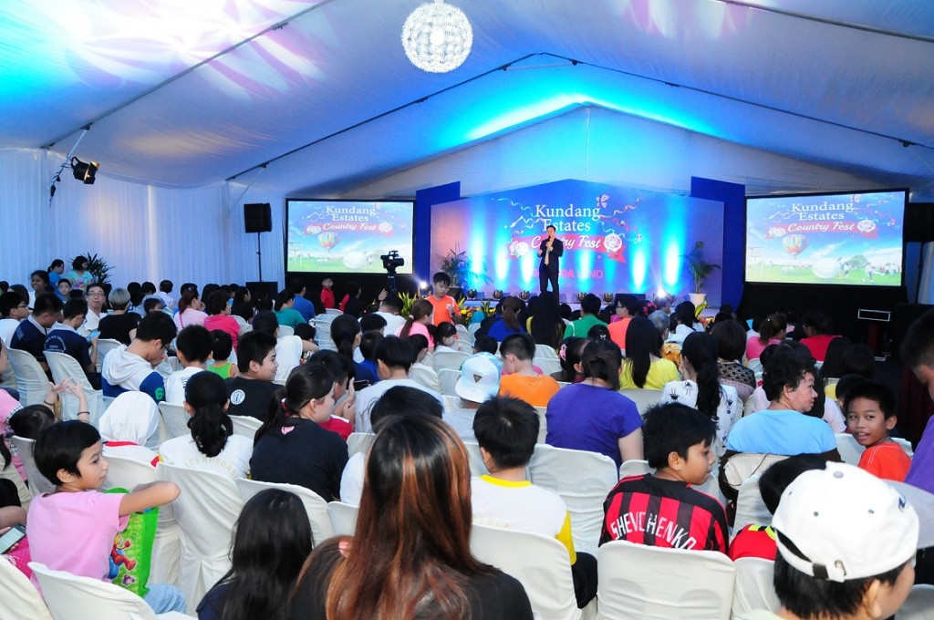 6_Property talk at the Kundang Estates Country Fest