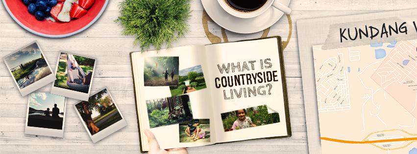Countryside Living Poster