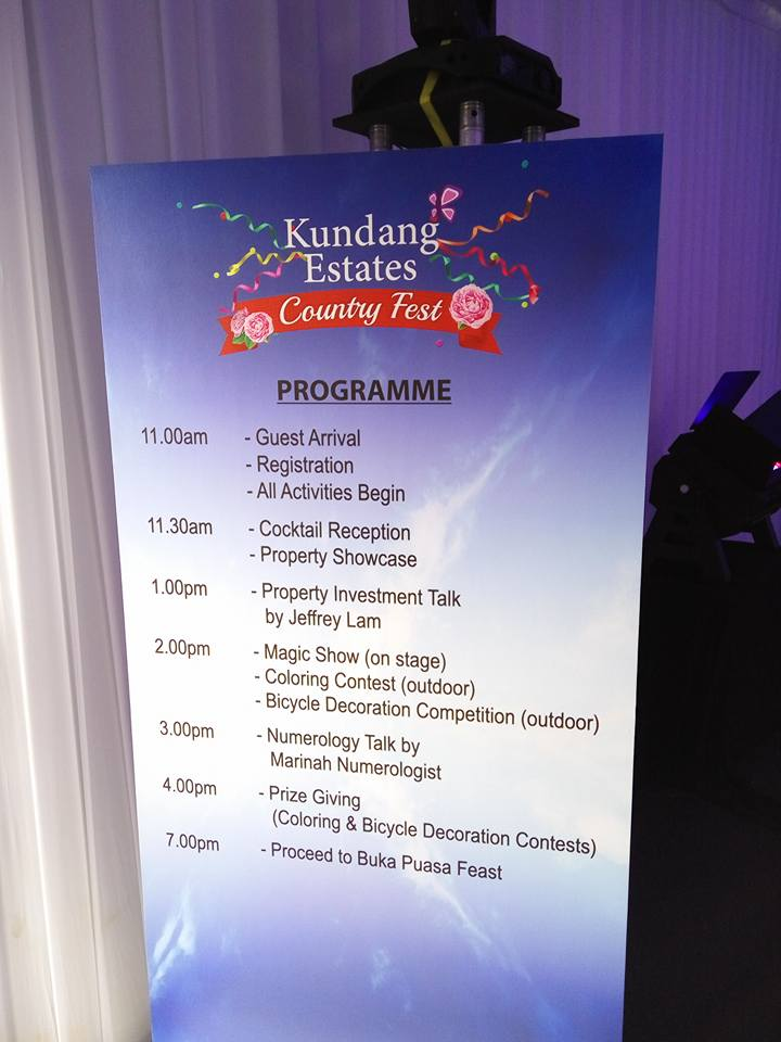 Kundang Estate Country Fest Programmes