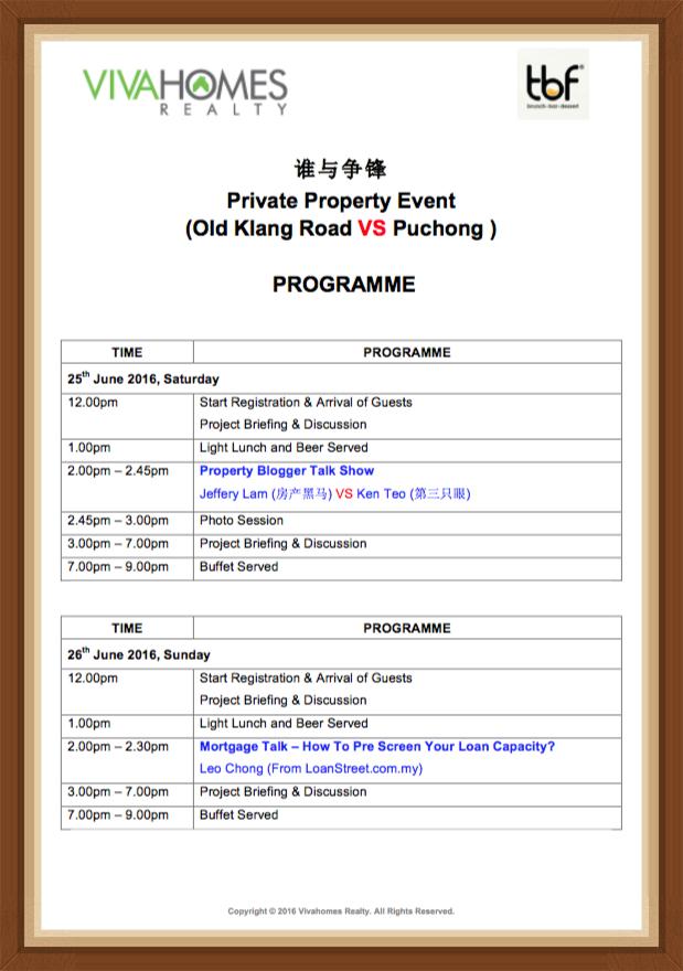 TBF Setiawalk Final Programme
