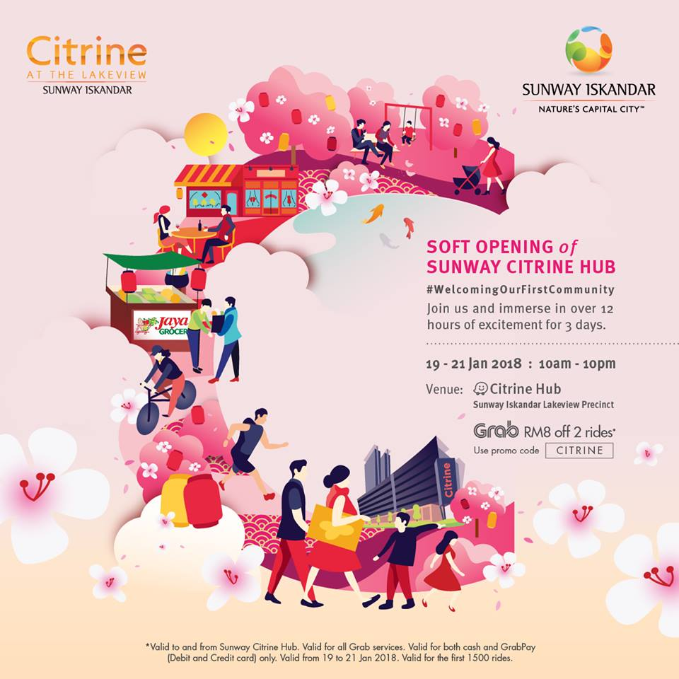 Sunway Citrine Soft Launch 19 Jan 2018