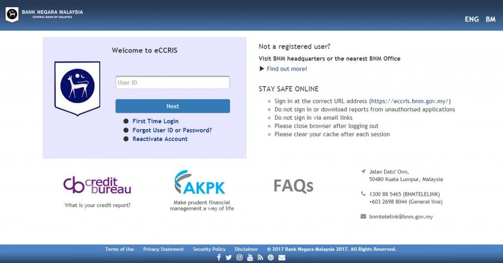eCCRIS Main Page